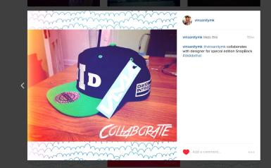 Dave Instagram Hat