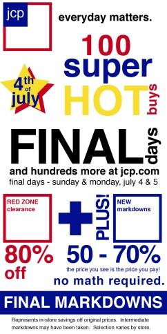 JCP Advertisement