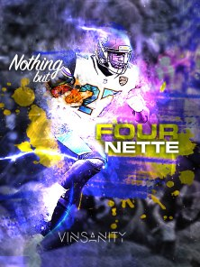 Nothing but Fournette - iPad