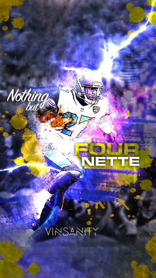 Nothing but Fournette - iPhone
